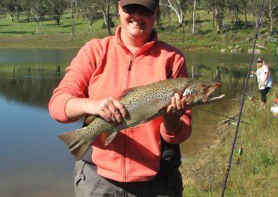 Robyn Joss 63cm Brown trout