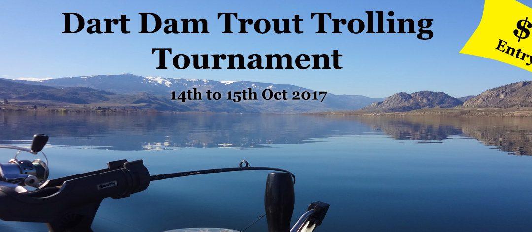 Dart Dam Trout Trolling Tournament
